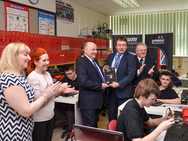 Sponsored Lab opens at Gower College Swansea