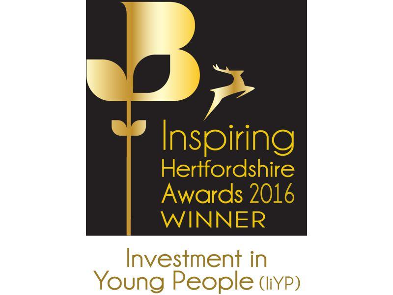 Winners at this year's Inspiring Hertfordshire Awards