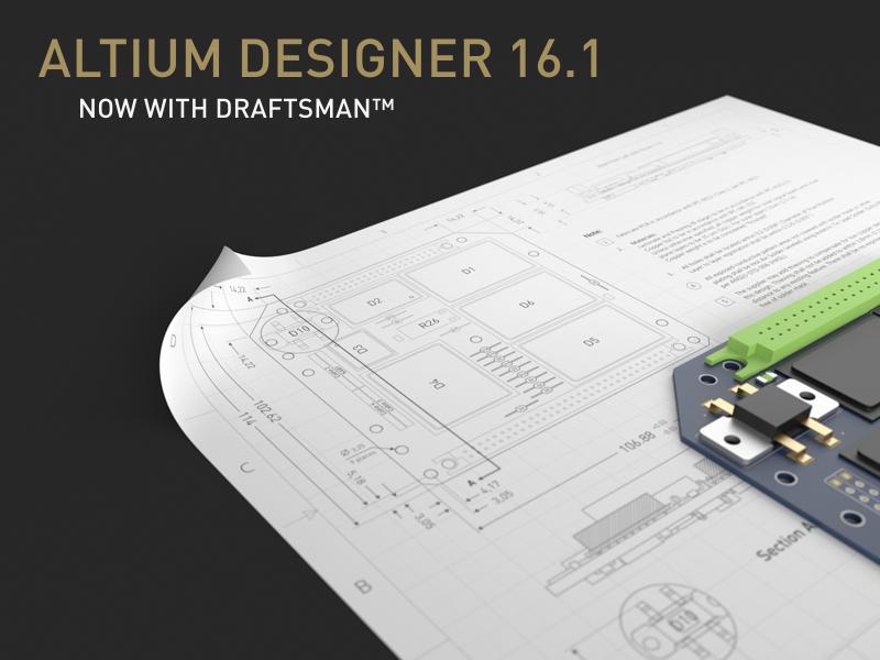 Altium Designer 16.1.10 - update available